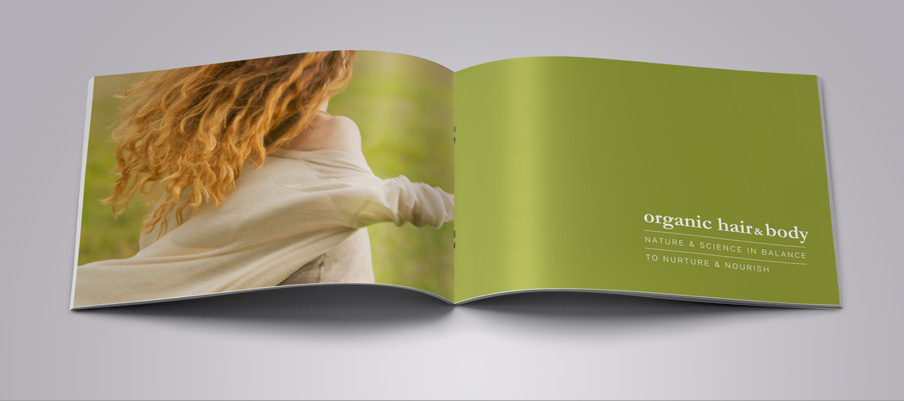 Organic Skin Care brochure and catalogue